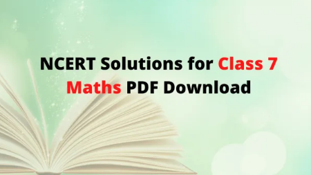 Students Should Know-How To Solve- Class 7 Maths NCERT Solutions